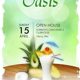 Sorrento Oasis open house