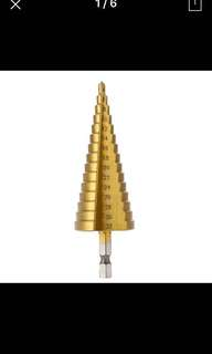 Conical Stepped Core Drill Bit 4-32mm Diameters