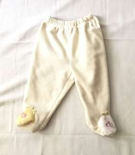 Charity Sale! Authentic Sears Baby Yellow Soft Pants Size 6 months