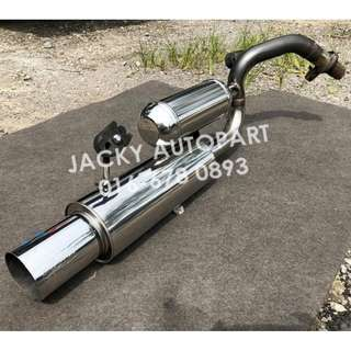 Exhaust Muffler HKS Silent Hi Power Resonator Jpn