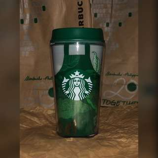 Starbucks Green Apron Tumbler Summer Collection