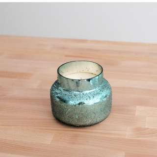 NEW Anthropologie Top rated Capri Blue Iridescent Jar Candle