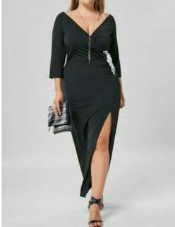 Plussize dress partygown formal | semi-formal