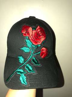 ‼️Brand New Fudge Rock Black Rose Cap ♥️