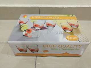 Glass set 6pcs