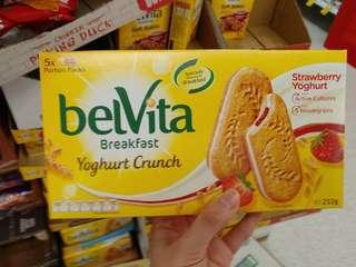 Belvita燕麥乳酪餅/燕麥殼物餅