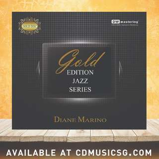 🚚 [Jazz] CD Gold Edition Jazz Series Diane Marino