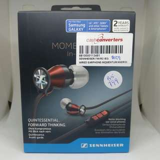 Sennheiser MOMENTUM In-Ear (Black Red)