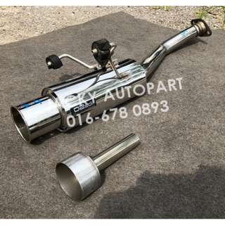 "Muffler Exhaust Kakimoto O2edi w Silencer 2"" Japan"