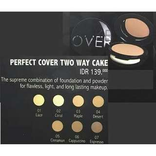 New! Make over perfect cover two way cake