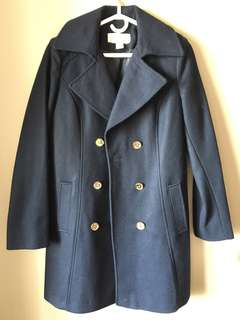 Brand new! Michael Kors double breasted coat S