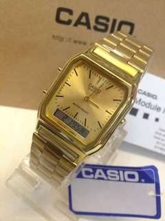 Casio watch with box