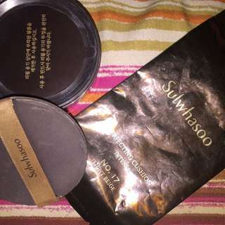 Preloved sulwhasoo cushion