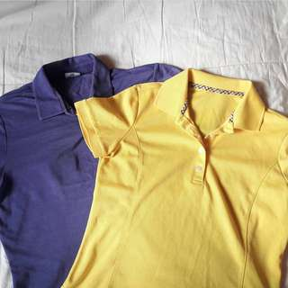 2 Polo shirts for 100