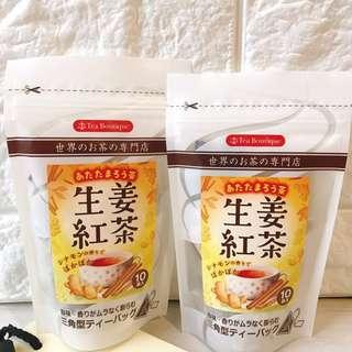 日本TeaBoutique生薑肉桂紅茶(預購)