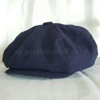 Topi Newsboy Cap / Bakerboy Hat / British Cap