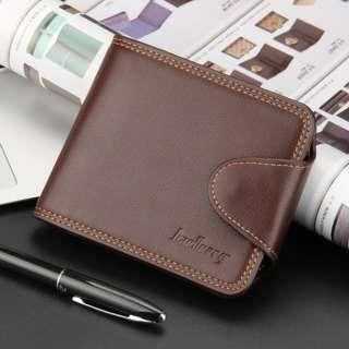 BAELLERRY mens wallet korean style leather-DA4001-1