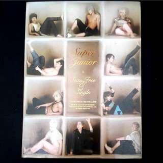 Free Shipping! Sexy Free & Single Ver. B album