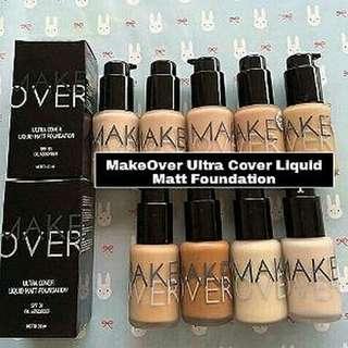 New! Make over ultra cover liquid