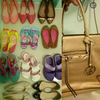 Shoes bundle plus 1 bag