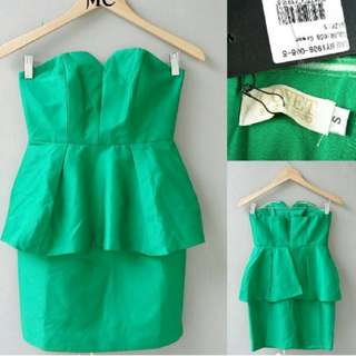 Covet Love bonito green dress
