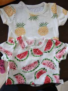 Romper (Fruits Collection)