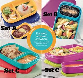 Tupperware FoodieBuddy Lunch Box( 1pc)