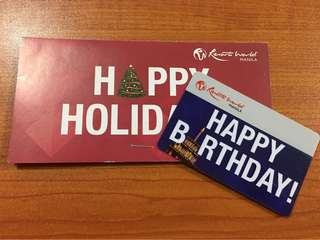 Resorts World Gift Card (with Php 15k load)
