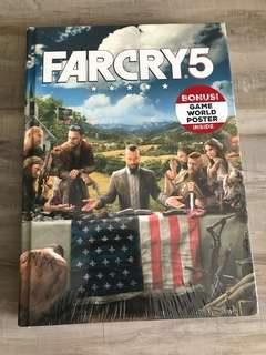 Far Cry 5 Collector Edition Guidebook