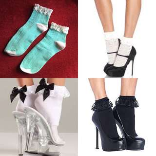 🆕Frilly socks (paired with high heels)