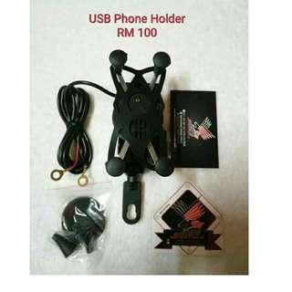 USB Phone Holder