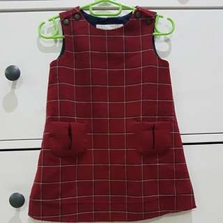ZARA 9-12m DRESS fits 2yo as top