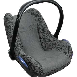 Dooky Seat Cover 0+ Grey Leaves