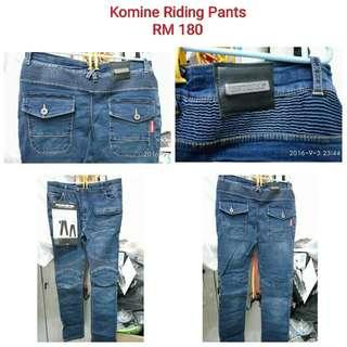 Komine Riding Pants