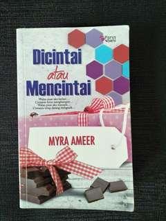 Novel Melayu: Dicintai atau Mencintai
