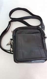 Hickok Genuine Leather Sling Bag