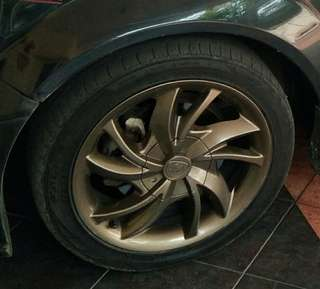 16 inch Satria Neo CPS Rim