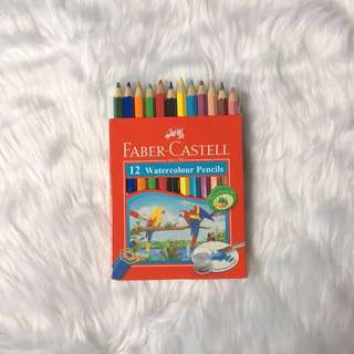 Faber Castell Watercolor Pencil (12 pcs)