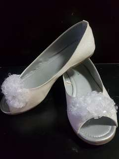 White Formal Shoe