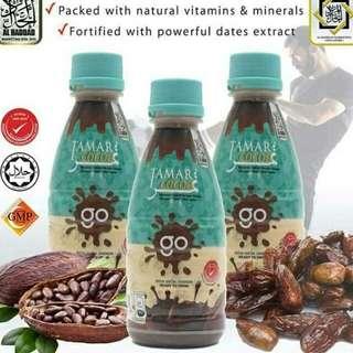 Minuman Tamar Cocoa GO (botol) 220ml