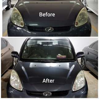Car Headlights Polishing Services