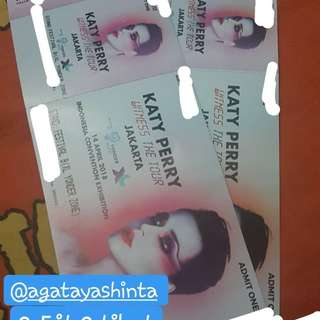Tiket konser Katy Perry Witness Tour