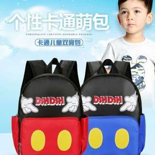 Mickey Mouse Kids School Backpack