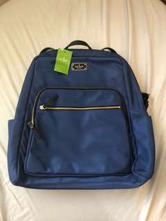 Authentic Kate spade large back pack bag