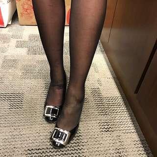 Roger Vivier black heel