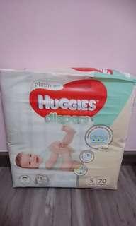 Huggies Diapers (Platinum)