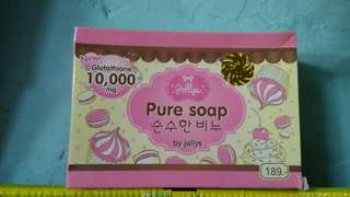 Pure soap jellys 10.000/mg glutathion