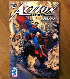 Action comics 1000 Jim Lee Tour variant exclusive ( 750 copies )