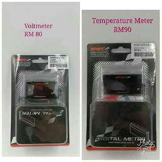 Koso Temperature Meter