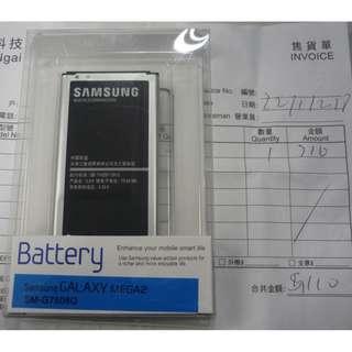 原廠 Samsung GALAXY MEGA2 Battery SM-G7508Q 電池